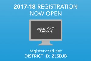 School Registration Open 2017-18