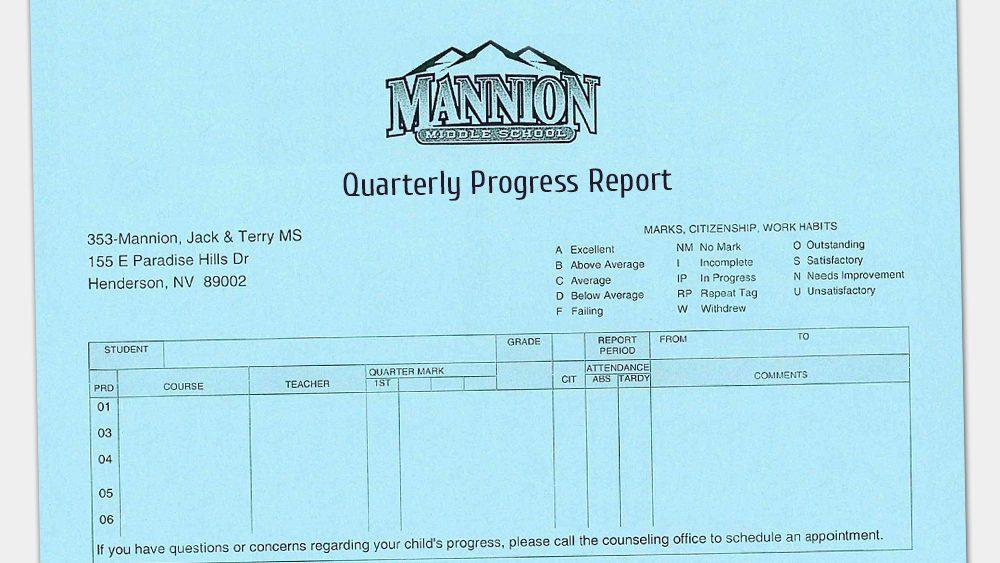 Quarterly Progress Report