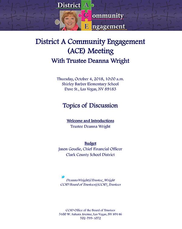 District A Meeting Flier 100418