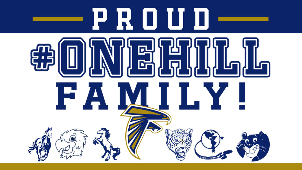 Proud #OneHill Family Sign