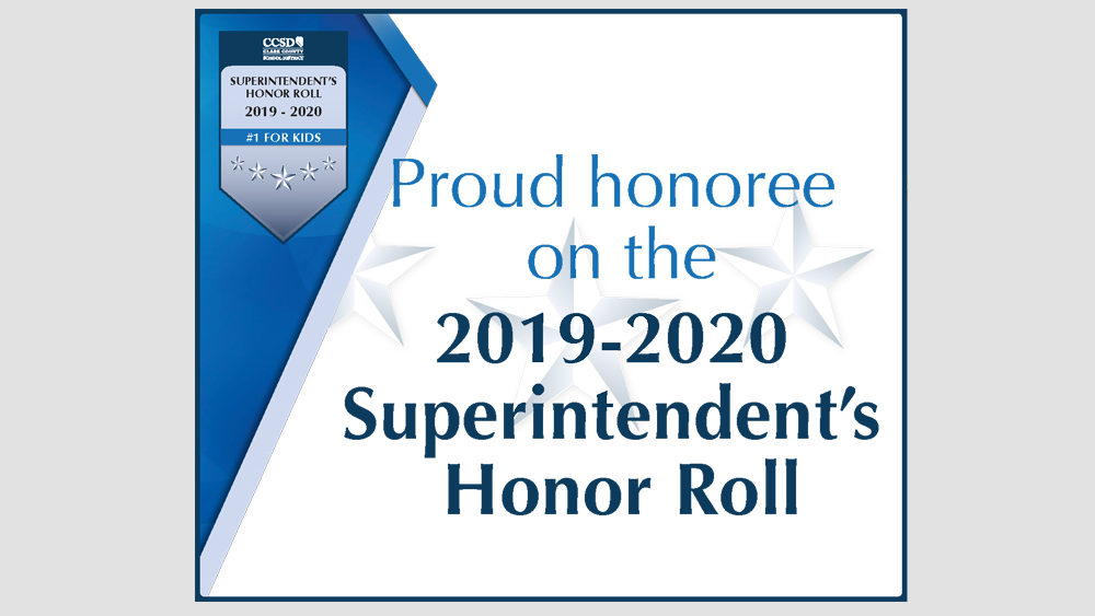 Superintendents Honor Roll 2019-2020